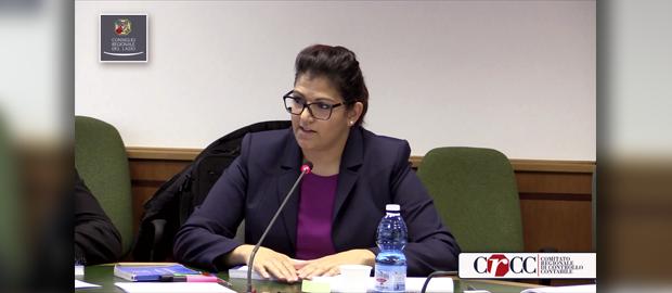 Comitato Regionale di Controllo Contabile - Presentazione della bozza di relazione sul Rendiconto 2014