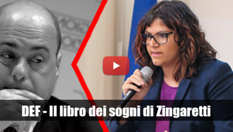 DEF - Il libro dei sogni di Zingaretti