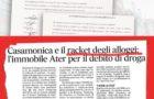 SANATORIA ALLOGGI ATER: IL RACKET DEI CASAMONICA PER RISCUOTERE I CREDITI DI DROGA
