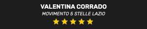 Valentina Corrado – Consigliere Regionale del Movimento 5 Stelle Lazio